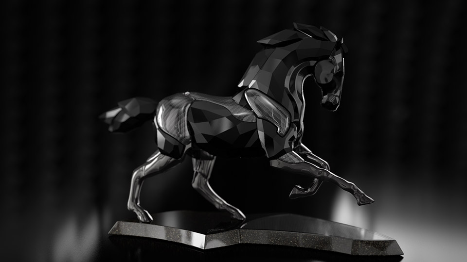 swarovski crystal stallion preview 07
